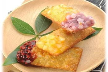 Tarte aux haricots rouges / pommes