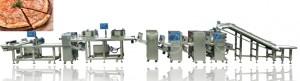 Automatic Pizza Production Line Machine